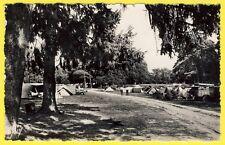 cpsm 95 - BAILLET en FRANCE CAMPING dans le Parc de CHÂTEAU Tentes Automobiles