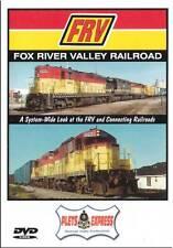 Fox River Valley Railroad DVD NEW Plets FRV C&NW WC GB&W E&LS Lake Shore Div