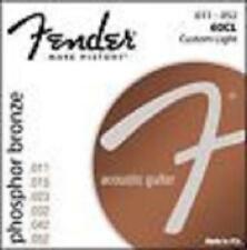 Fender Acoustic 60CL Guitar Strings Phosphor Bronze11s SET - 60 CL Steel - Folk