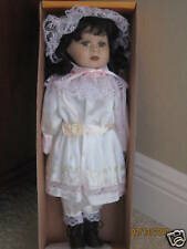 Ashley Belle Jen Porcelain Doll Mint with Box and COA