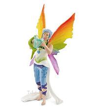 FREE SHIPPING | Schleich 70481 Dunya Rainbow Elf Bayala Figurine- New in Package