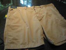 NWT - Mens RALPH LAUREN Khaki Flat Front CLASSIC Fit Shorts (Size 50)