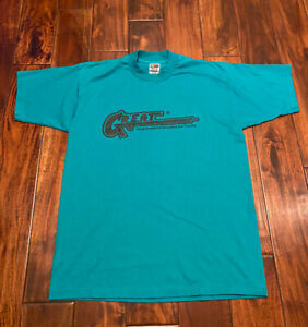 Vintage 90's Great Gang Resistance Education And Training Size Large T-Shirt