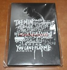 TAEMIN SHINEE 1st SOLO CONCERT OFF-SICK OFFICIAL GOODS POSTCARD POST CARD BOOK