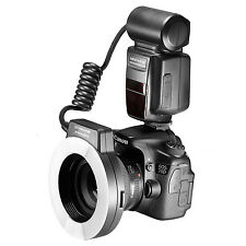 Neewer Macro TTL Ring Flash Light with AF Assist Lamp for Canon