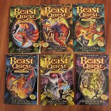 BEAST QUEST SERIES ~ THE PIRATE KING ~ Books # 43 - 48 ~ by ADAM BLADE ~ PB