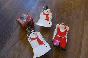 Christmas Novelty Boxes  x 4 - Small