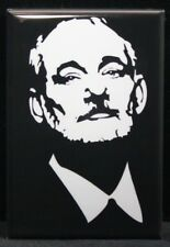 "Bill Murray 2"" X 3"" Fridge / Locker Magnet. Chive On"
