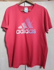 ADIDAS - CLASSIC RED T SHIRT - SIZE XL