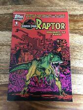 JURASSIC PARK: RAPTOR #1 1993 TOPPS COMICS