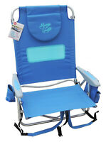 New | Sun In Comfort Ladies Comfort Furniture | 5-Position Beach Chair Backpack