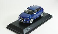 Audi RS Q3 2013 (blue-metallic), model cars 1/43
