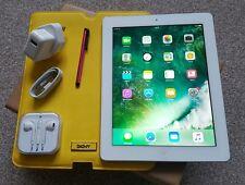 Apple iPad 4th Gen 16GB, Wi-Fi +Cellular (EE), 9.7in Retina display-White+ Extra