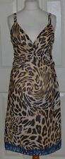 Per Una Animal Print Casual Sleeveless Dresses for Women