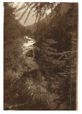 Suisse, La Viège en aval de Zermatt  Vintage silver print. Switzerland  Tirage