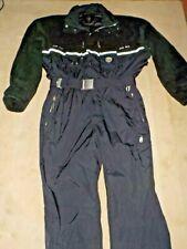 Mens Bogner Ski Suit Black 40 Excellent Condition