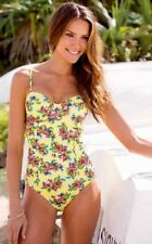 SPEEDO B/C BALCONETTE UNDERWIRE ONE PIECE SWIMSUIT. SIZE 8. NEW WITH TAGS.