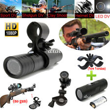 HD Sports Camera/Camcorder 1080P Bike Helmet Action Cam Mini DV 170° W/ Gun Clip