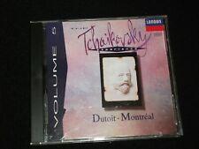 TCHAIKOVSKY°VOLUME 5<>DUTOIT-MONTREAL<> Canada CD ~LONDON 440 941-2