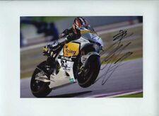 Hiroshi Aoyama Honda Moto GP Quatar 2010 Signed Photograph
