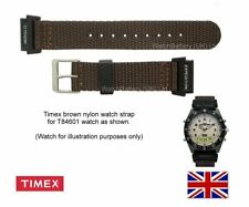 Genuine Timex Nylon Watch Strap Band for Mens T84601 Timx Watch - 20mm fitting