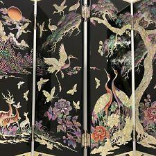 Folding Screen, Najeon Chilghi Byeongpoong, Korean, Traditional Craft 36041 CP