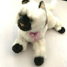 Douglas Cuddle Toys Tasha Cat Himalayan 14 inch Plush