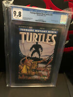 Teenage Mutant Ninja Turtles 55 (CGC 9.8) White pgs; City at War part 6