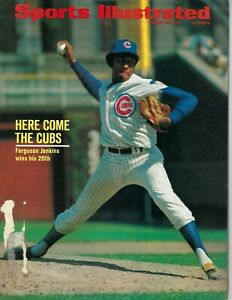 1971 8/30 Sports Illustrated baseball magazine Ferguson Jenkins Chicago Cubs GPL
