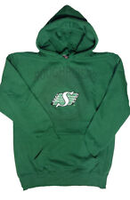 Saskatchewan Roughriders CFL Large Green Hoodie