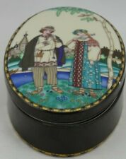 Heinrich Villeroy Boch Covered Trinket Box Russian Fairy Tales The Snow Maiden