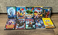Children's DVD Bundle- x10 DVDs- Dreamworks/ Animated- LEGO/ Spongebob/ RIO