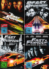 The Fast and the Furious 1 - 4 Collection (Paul Walker)              | DVD | 500