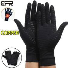 Copper Compression Gloves Therapy Circulation Pain Relief Keep Warm Finger US