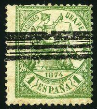 ESPAÑA 150 FALSO POSTAL TIPO III BARRADO