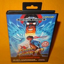 VINTAGE 1993 SEGA MEGA DRIVE STREET FIGHTER II SPECIAL CHAMPION EDITION GAME PAL