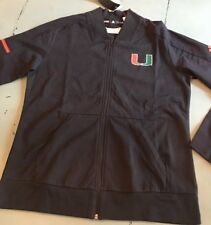 University of Miami, Women's Climalite Squad Bomber Jacket, Adidas
