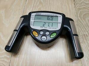 Omron HBF-306C Fat Loss BMI Monitor Tracker - Black Used