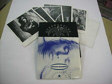 "QUEENSRYCHE - SILENT LUCIDITY - 7"" VINYL + PRINTS + STENCIL 1990 EXCELLENT"