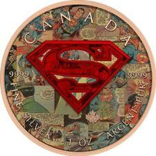 Superman - COMICS Canada 2016 5$ dollars 1 oz Silver Coin