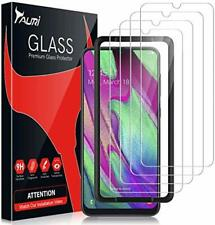 TAURI [4 Pièces Verre Trempé pour Samsung Galaxy A40, [9H Dureté] [sans Bulles][