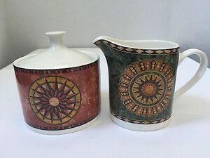 American Atelier At Home Pavilion 5294 Porcelain Creamer And Sugar Bowl Set