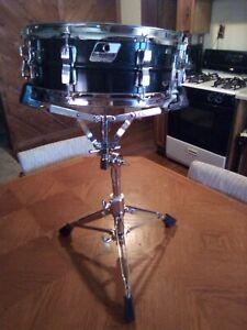 Ludwig Acrolite Black Galaxy Snare Drum 5 x 14 (Blacrolite)