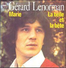 GERARD LENORMAN MARIE LA BELLE ET LA BÊTE JEAN MICHEL JARRE 45T SP 1975 CBS 3436