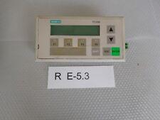 Siemens 6es7272-0aa20-0ya0, siemens TD 200 bedienterminal
