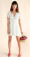 NWT Express Ruched Sleeve Fit And Flare Dress Sold out Value $70