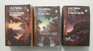 J.R.R. Tolkien Il Signore Degli Anelli Bompiani Tre Volumi Alliata No Rusconi