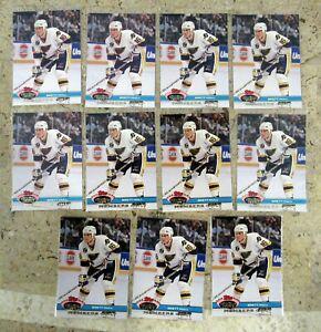 1991 - Stadium Club Members Only - Brett Hull - St Louis Blues - 11ct Card Lot
