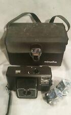 VINTAGE MINOLTA Autopak 600-X FILM CAMERA - 1:2.8 f=38mm SHUTTER WORKS