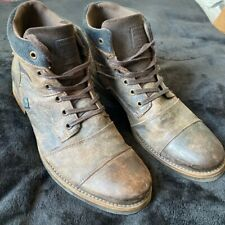 Mens Distressed River Island boots size 9